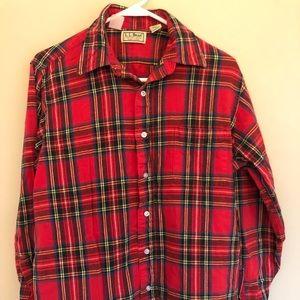 Men's LLBean flannel